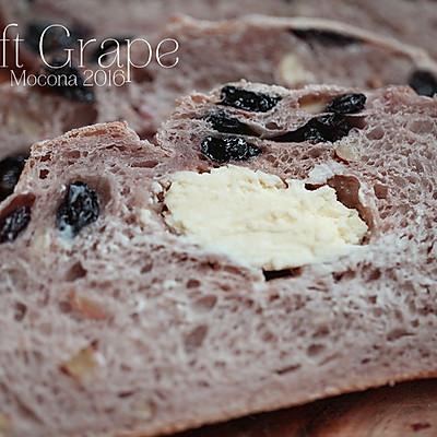 红酒黑加仑乳酪包