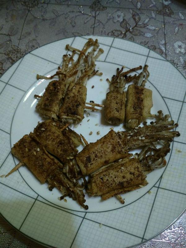 金针菇卷的做法