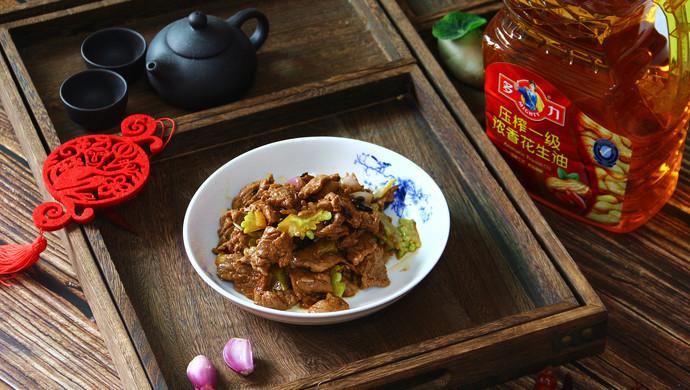 金牌豉汁凉瓜炒牛肉(复刻版)