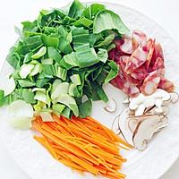 快手晚餐——营养好吃的上海菜饭的做法图解3