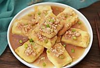 虾仁锅塌豆腐的做法