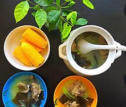 腔骨海带冬瓜汤的做法