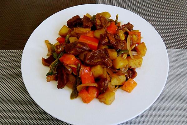 唐果料理——法国红酒炖牛肉(简易版)的做法