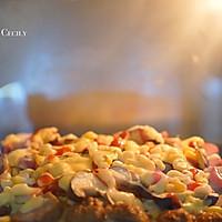 在家做披萨的做法图解4