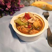 西兰花蘑菇浓汤