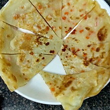 红罗卜煎饼#KitchenAid美食