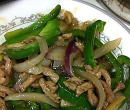 青椒牛柳(黑胡椒风味)的做法