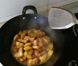 香喷喷的土豆红烧肉~的做法