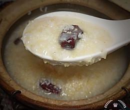 #换着花样吃早餐#健脾养胃山药红枣小米藜麦粥的做法