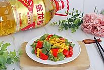 营养美味提升抵抗力,彩椒炒鸡蛋的做法