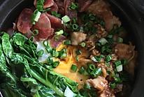 广式排骨腊味煲仔饭的做法