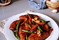 """酱香浓郁的红烧鸡翅#美食说出""""新年好""""#的做法"""