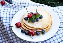 快手早餐or下午茶【蜂蜜鲜果配松饼】的做法