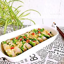 虾胶酿秋葵#舌尖上的春宴#