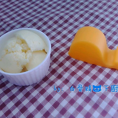 奶油冰淇淋(自制)无敌美味