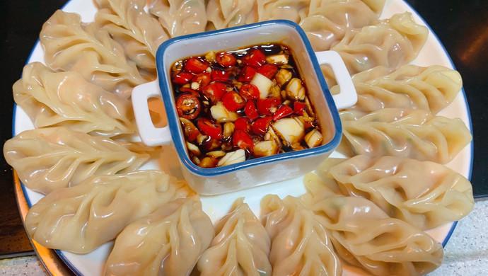 虾仁鲜肉蒸饺简单美味早餐家常菜