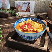 番茄丝瓜蛋汤的做法图解7