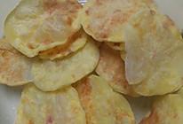超级简单微波炉薯片的做法