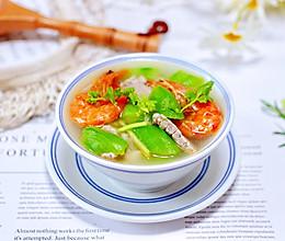 #硬核菜谱制作人#丝瓜海虾肉片汤的做法