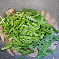 韭菜炒猪肝的做法图解9