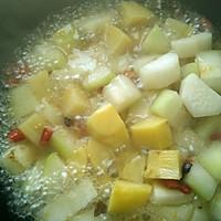 素烧土豆冬瓜(减肥美容佳品)的做法图解2