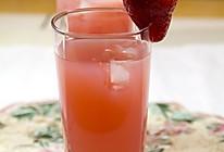 草莓石榴汁的做法