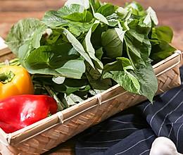 地瓜苗二吃|美食台的做法