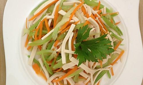 减肥菜拌三丝的做法