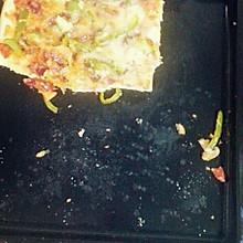 意式薄底海鲜披萨(含自制披萨酱)