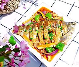 #餐桌上的春日限定#吃不胖的【红烧鳊鱼】 | 元気汀的做法