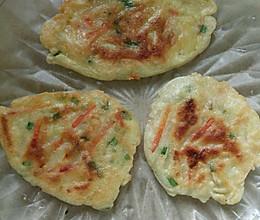 红萝卜土豆煎饼的做法
