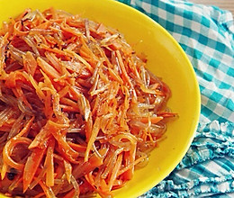 胡萝卜炒粉条的做法
