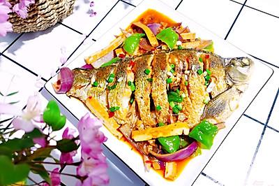 吃不胖的【红烧鳊鱼】 | 元気汀