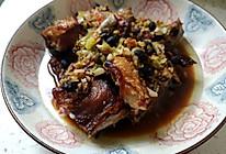豆鼓蒸腊鱼的做法