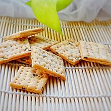 香葱饼干:酥脆化渣