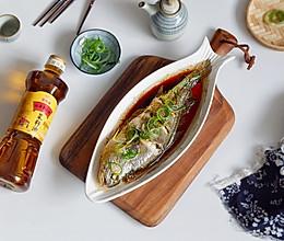 清蒸黄花鱼#金龙鱼外婆乡小榨菜籽油 外婆的时光机#的做法