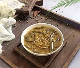 消暑佳品: 陈皮海带绿豆沙的做法