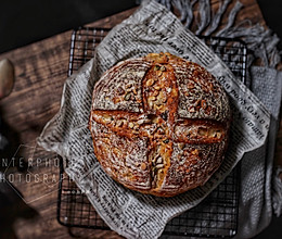 谷物杂粮面包的做法