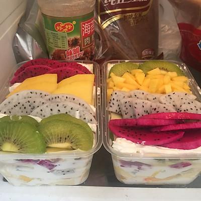水果千层便当(过程详细简单、无需烤箱)