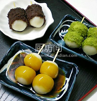 日式串团子