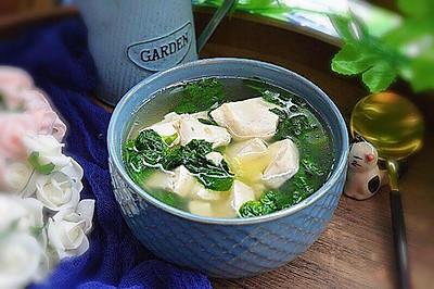 薄荷豆腐汤