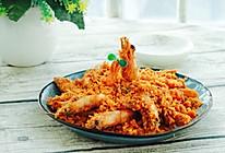 避风塘炒虾#每道菜都是一台时光机#的做法