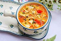 #秋天怎么吃#番茄菌菇豆腐汤的做法