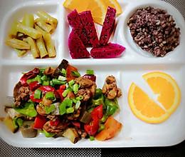 合理搭配提高代谢的减脂午餐的做法