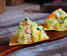 1分钟学会简单又好吃的日式土豆泥沙拉的做法