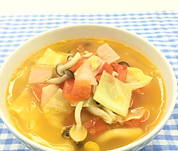 日式蔬菜瘦身汤的做法