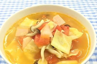 日式蔬菜瘦身汤