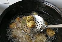 炸水萝卜丸子的做法