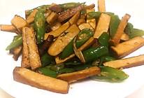 杭椒炒豆干的做法