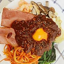 #人人能开小吃店#韩式拌饭